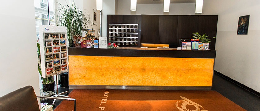 Hotel Post, Vienna, Austria - reception desk.jpg